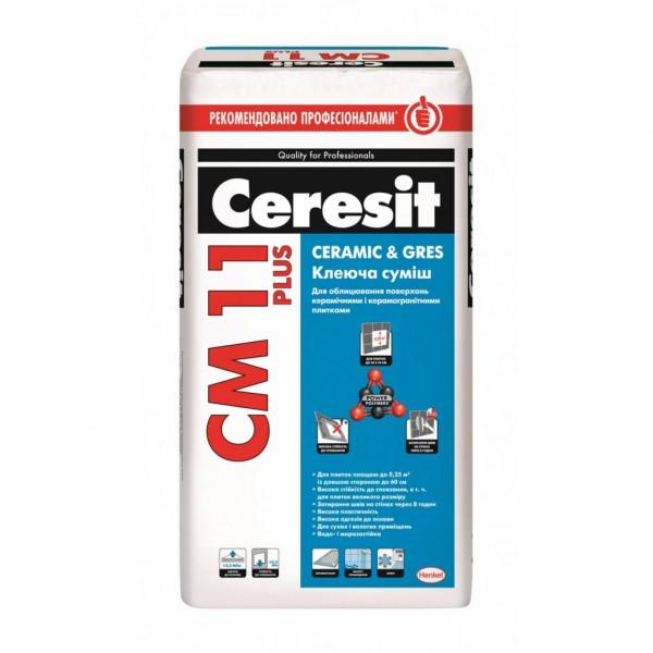 Ceresit CM 11 Plus Клеюча суміш для плитки 25кг