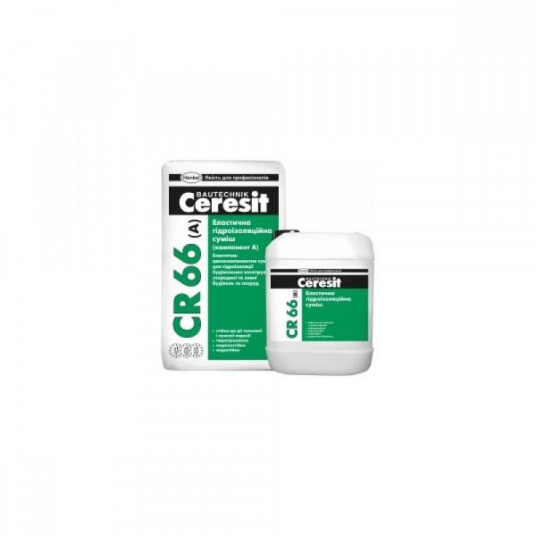CR 66/22,5кг гідроізоляційна суміш 2-х комп. (17,5кг+5л)
